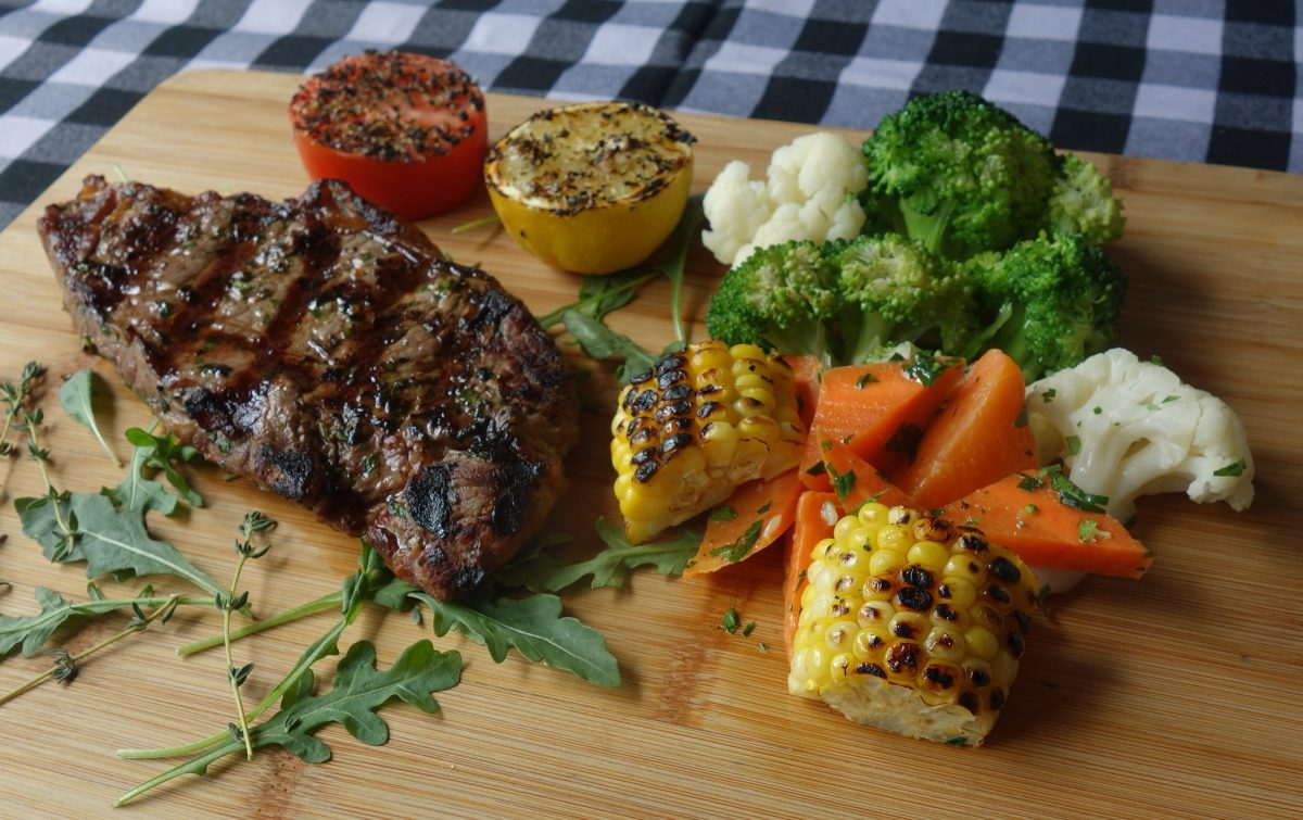 premium beef, rib-eye steak dinner at Amico's Pizza for $25