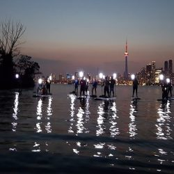 Night SUP Toronto Island